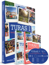 Turas 1 Pack - includes (Textbook, Portfolio/Activity Book)