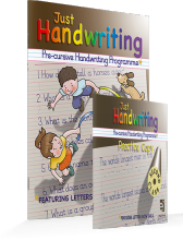 Just Handwriting 2nd Class (Pre-Cursive) Educate.ie