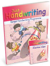Just Handwriting Senior Infants (Script Style) Educate.ie