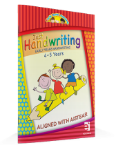 Just Handwriting Early Years Learning (4-5 Years) - Educate.ie