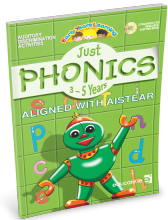 Just Phonics 3-5 years - Educate.ie