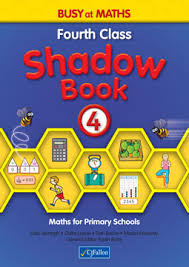 Busy at Maths 4th Class Shadow Book CJF