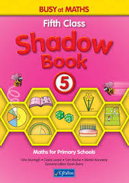 Busy at Maths 5th Class Shadow Book CJF