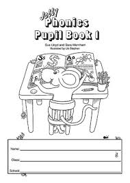 Jolly Phonics Pupil Book 1 (Black & White) Junior Infants
