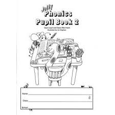 Jolly Phonics Pupil Book 2 (Black & White) Senior Infants