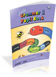 Jolly Grammar 1 Pupil Book for 1st Class
