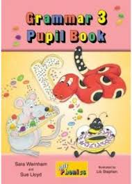Jolly Grammar 3 Pupil Book for 2nd Class