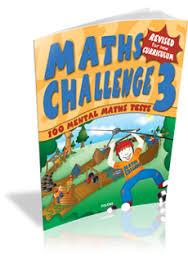 Maths Challenge 3rd Class Folens