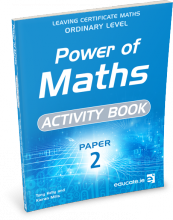 Power of Maths Paper 2 OL Activity Book