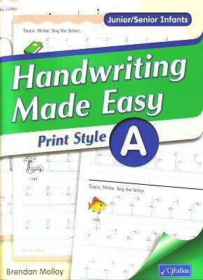 Handwriting Made Easy Print Style A