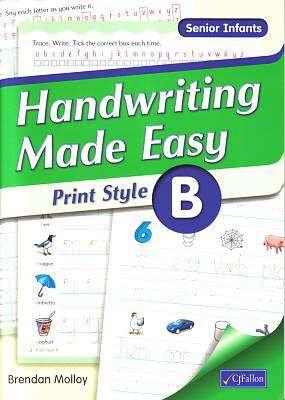 Handwriting Made Easy Print Style B