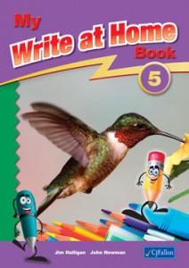 My Write at Home Series Book 5 (5th Class) CJ