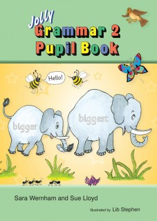 Jolly Grammar 2 Pupil Book for 2nd Class