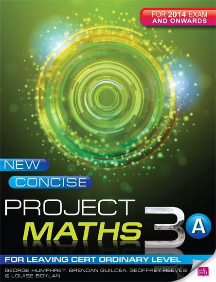 New Concise Project Maths 3A Leaving Cert