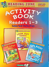 Reading Zone Junior Infants 3 in 1 Activity Book