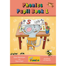 Jolly Phonics Pupil Book 1 Colour Edition - Junior Infants