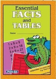 Essential Facts and Tables Prim-Ed