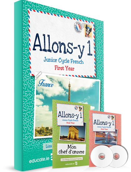 Allons-y 1 -Pack Junior Cycle French