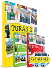 Turas 2 Pack - includes (Textbook, Portfolio and Activity Book)