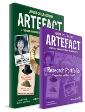 Artefact Pack - includes (Text and Research Portfolio/Sources and Skills Book)