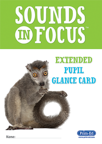 Sounds in Focus Extended Pupil Glance Card
