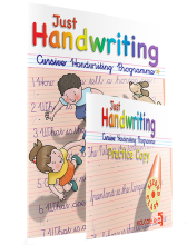 Just Handwriting NEW Cursive 2nd Class