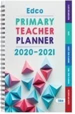Edco Primary Teacher Planner 2020/2021